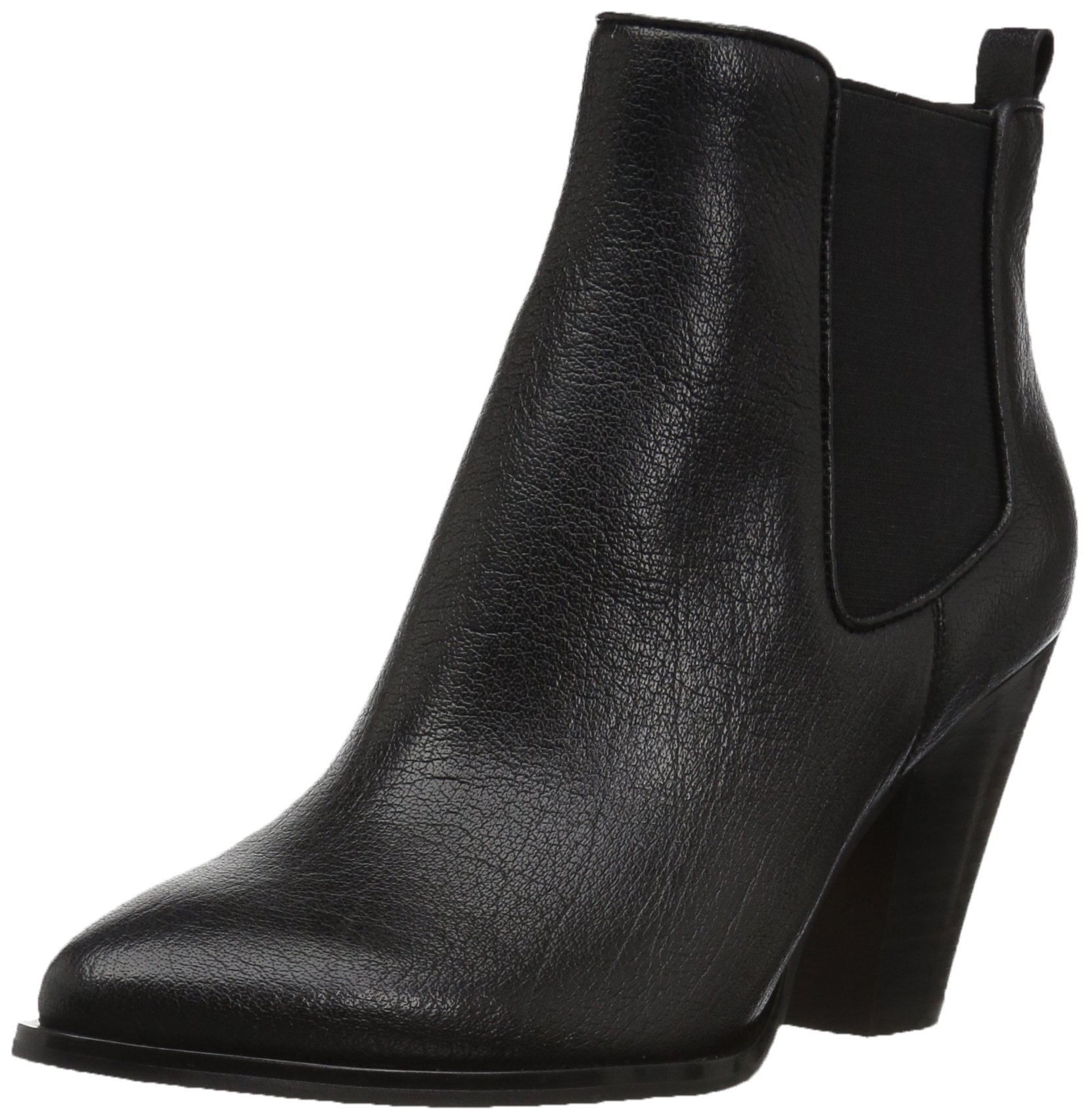 The Fix Women's Joelle Cowboy Style Ankle Boot, Black, 9 B US by The Fix