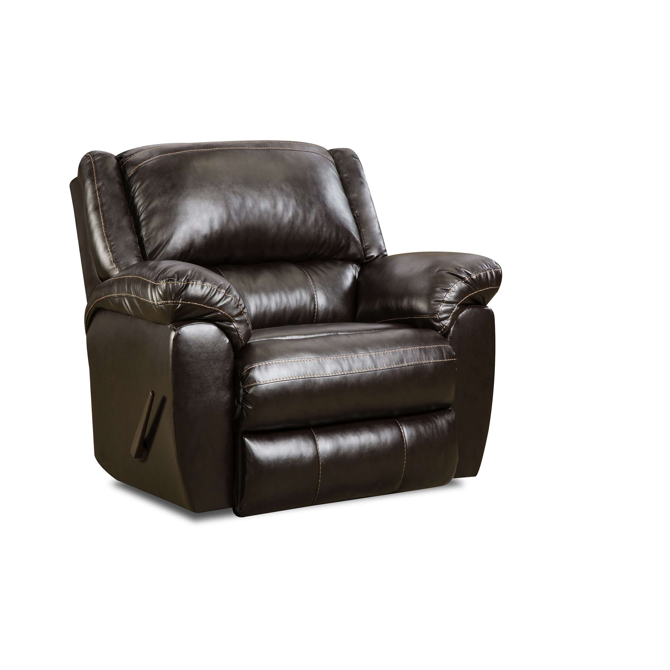 Simmons Upholstery 50433BR-19 Bingo Rocker Recliner, Brown by Simmons Upholstery