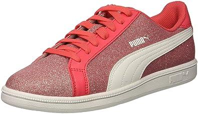 PUMA Smash Glitz Glamm JR Sneaker Paradise Pink White 247e4f290