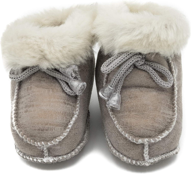 absoft Chaussures pour b/éb/é Unisexe Chaud pour lhiver Cuir Milk Model 02