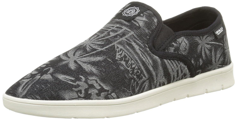 WAU Calpe - Zapatillas Hombre, Color Plateado (Black Silver), Talla 42