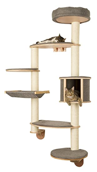 wall mounted cat furniture. Interesting Mounted Kerbl Dolomit Tofana WallMounted Cat Tree XLarge185 X 115 Throughout Wall Mounted Furniture T