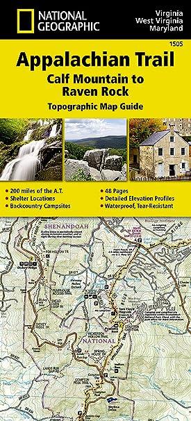 Amazon.com: Appalachian Trail, Calf Mountain to Raven Rock [Virginia ...