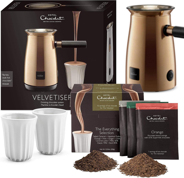 Hotel Chocolat Velvetiser Hot Chocolate Machine, Copper Copper