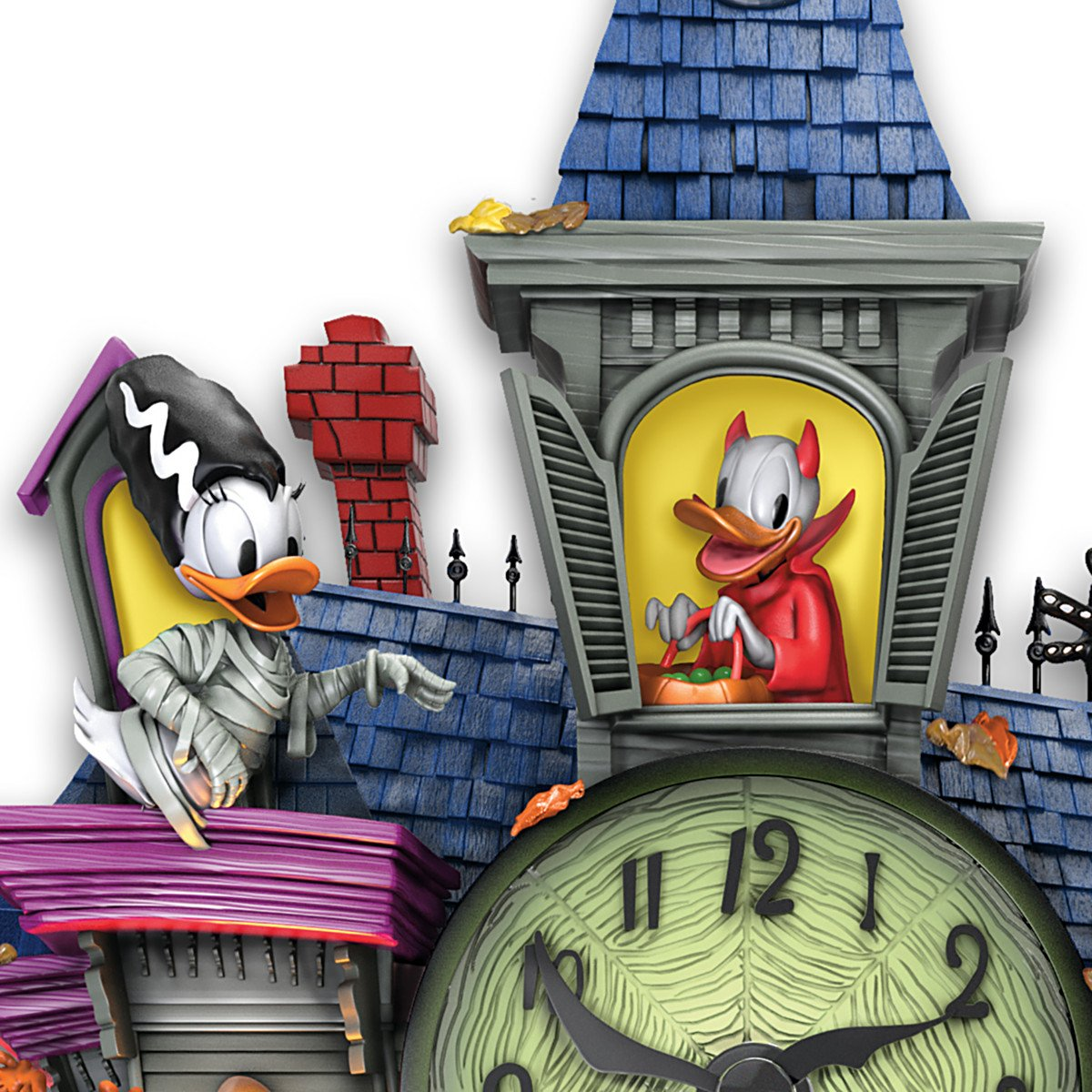 Amazon.com: Disney Halloween Themed Reloj de cuco con 9 ...