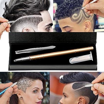 MagiForet - Maquinilla para el pelo con grabado de pelo, lápiz ...