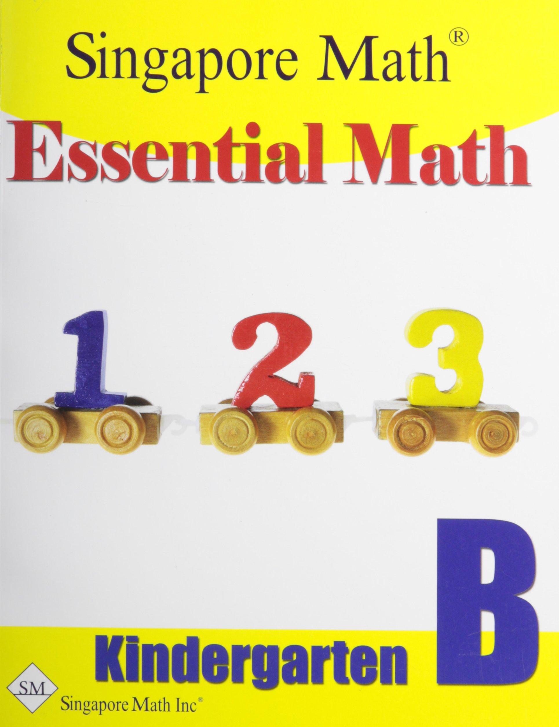 Essential Math Kindergarten B: 9781932906158: Amazon.com: Books