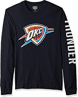 OTS NBA Adult Mens NBA Mens Slub Long Sleeve Team ...