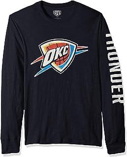 OTS NBA Adult Mens NBA Mens Slub Long Sleeve Team ...