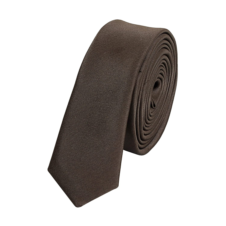 Fabio Farini Schmale f/ür Hochzeit Business Abschlussball stilvolle Krawatte 3 cm X-Slim in verschiedenen Farben
