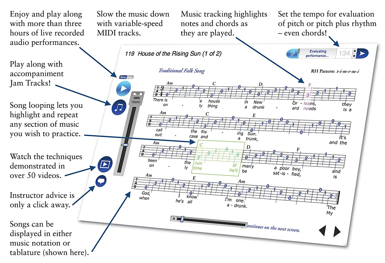 Amazon emedia guitar method v60 with bonus pitchboy mini amazon emedia guitar method v60 with bonus pitchboy mini keyring tuner hexwebz Gallery