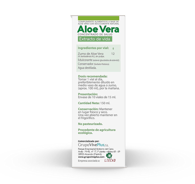 Vive+ Advance Aloe Vera, Suplemento Alimenticio - 3 Paquetes de 10 Unidades: Amazon.es: Salud y cuidado personal