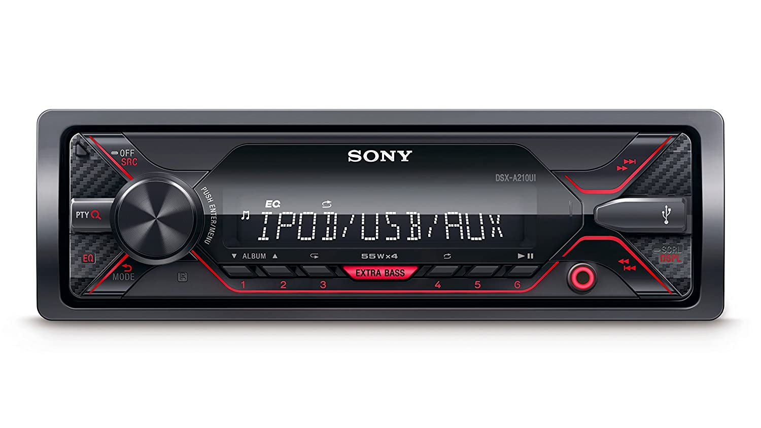Sony DSXA210UI Mechless Media Player and Receiver with USB//Aux