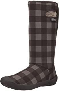 Amazon.com | Bogs Women's Summit Solid Waterproof Insulated Boot ...