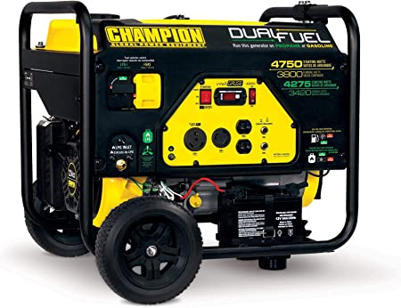 Amazon.com: Champion 3800-Watt - Generador portátil de ...