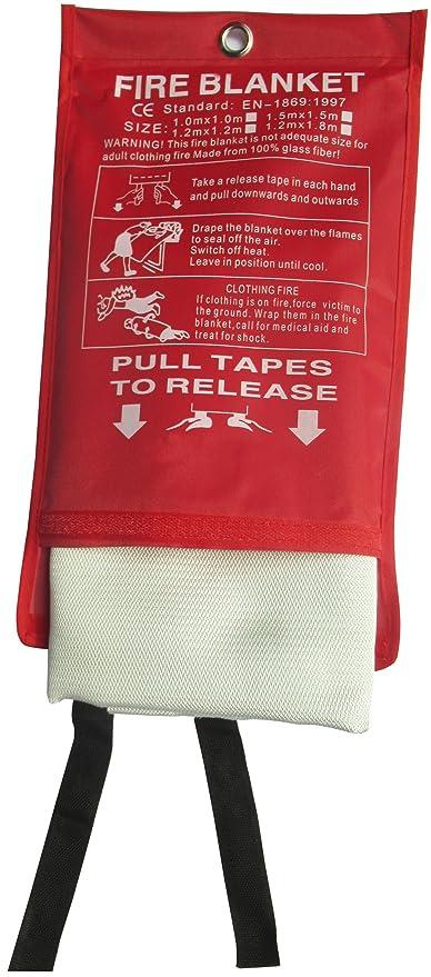Review Tonyko Fiberglass Fire Blanket