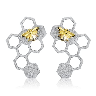 Amazon.com: Lotus Fun S925 - Pendientes de tuerca de plata ...