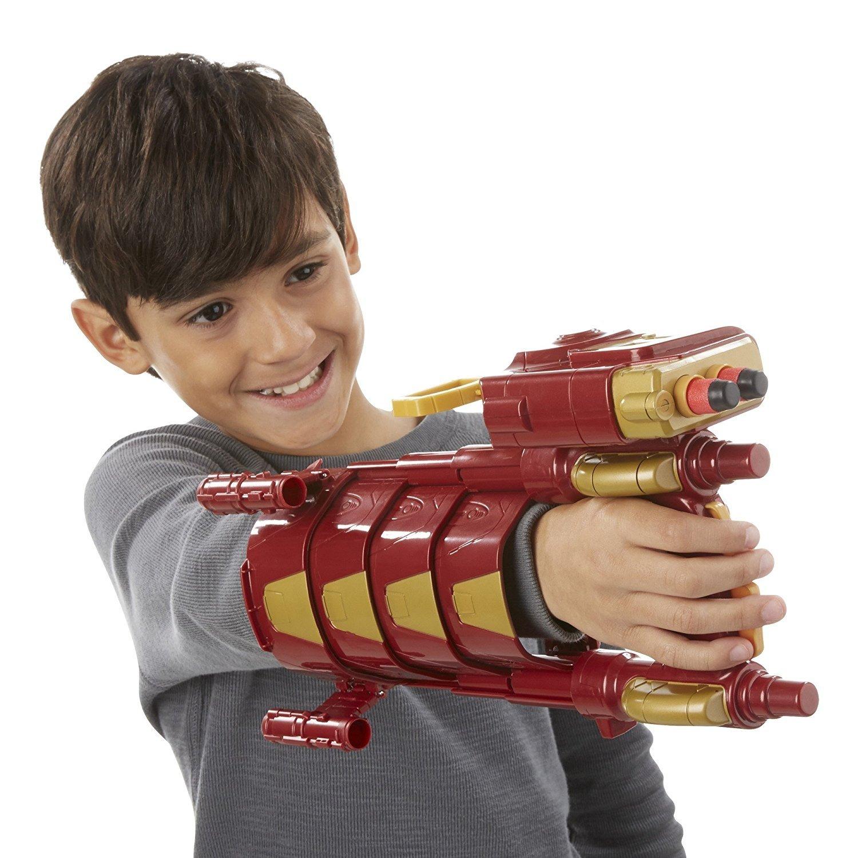 Nerf Marvel Iron Man Slide Blast Armor