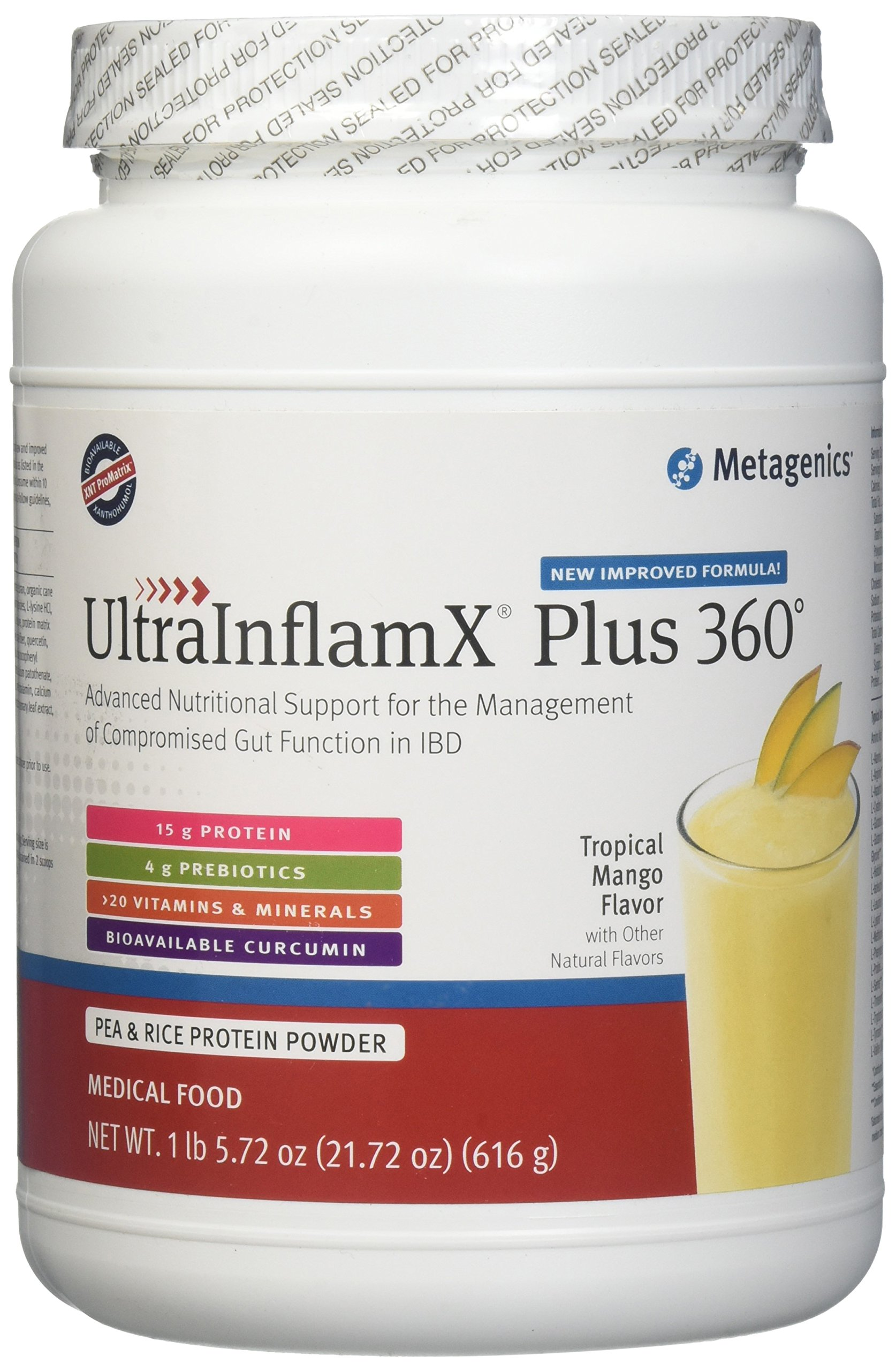 Ultra InflamX Plus 360 Mango 14 Servings- 2 Pack