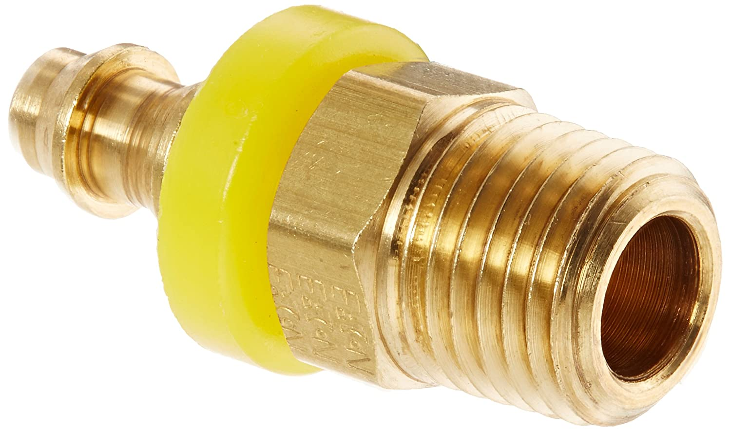 NULL EATON Weatherhead 10004B-104 Male Pipe Rigid Fitting CA360 Brass 1//4 Pipe Size