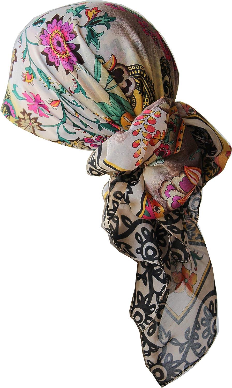 Deresina Frauenalltags Weiche Quadratisch Kopftucher 2 fur 10Eur