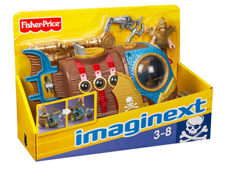 Fisher-Price Imaginext Pirate Sub