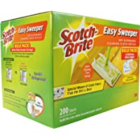 Scotch-Brite Q600RD-200 Easy Sweeper Dry Refill Bulk Pack 200 sheets
