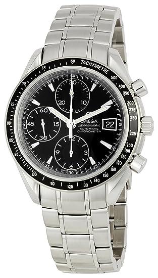 Omega 3210.50 - Reloj para hombres, correa de acero inoxidable: Amazon.es: Relojes