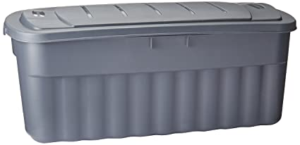 Rubbermaid Roughneck Storage Box 50-Gallon Grey (FG2550CPCYLND)  sc 1 st  Amazon.com : rubbermaid rugged storage  - Aquiesqueretaro.Com