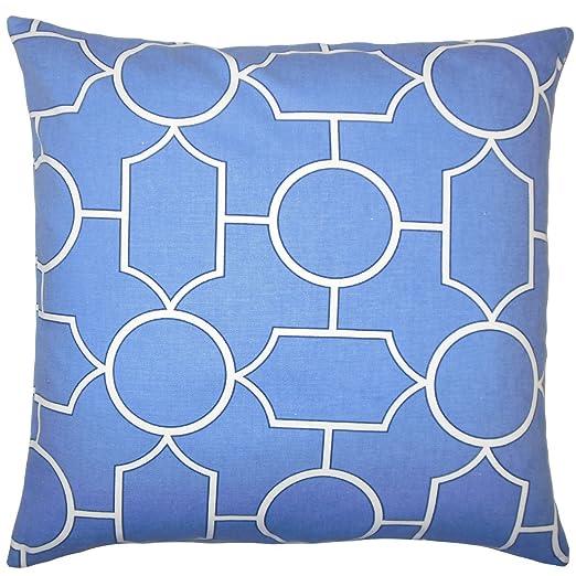 La Almohada Collection Samoset geométrico Funda para cojín ...