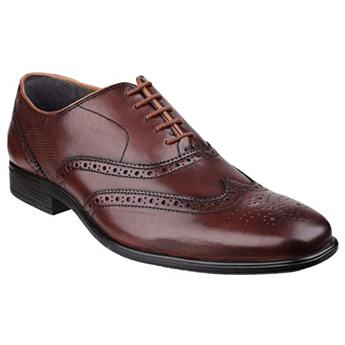 Hush Puppies Mens Griffin Maddow Lace Up Formal Brogues