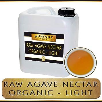 Amazon com : Bulk Raw Agave Nectar Organic - LIGHT - 5