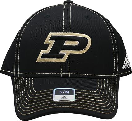 Amazon.com   adidas NCAA Purdue Boilermakers Flex Fit Adult Cap Hat ... 101e74962b2