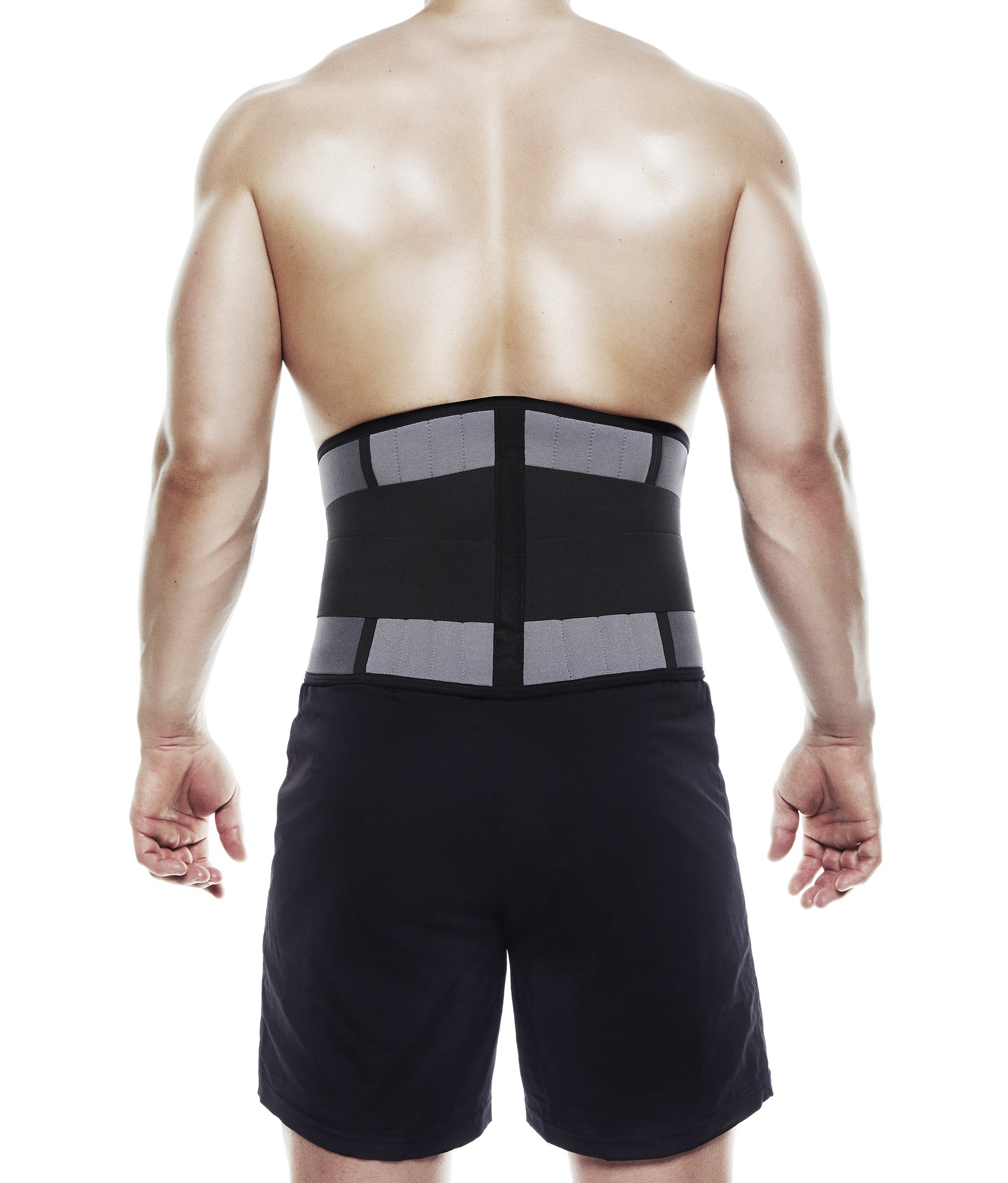 Rehband Core Line Back Support X-Stable 7732 5mm - Grey - X-Large by Rehband (Image #3)