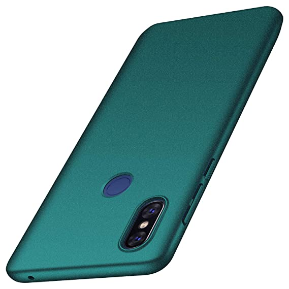 aspetto dettagliato 8ec43 25f52 Xiaomi Mi Mix 3 Case, Almiao [Ultra-Thin] Minimalist Slim Protective Phone  Case Back Cover for Xiaomi Mi Mix 3 (Gravel Green)