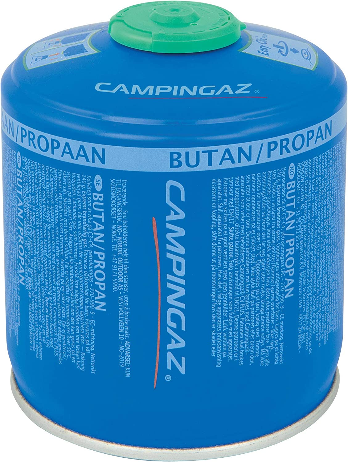 for Camping Stoves Campingaz CV 300 Plus Screw On Gas Cartridge Compact and Resealable Canister
