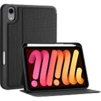 """ProCase New iPad Mini 6 Case 8.3"""" 2021 A2567 A2568 A2569 with Pencil Holder [2nd Gen Apple Pencil Charging], Slim Stand…"""
