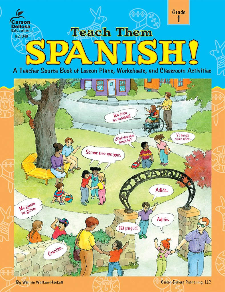 Workbooks learn spanish workbook pdf : Teach Them Spanish!, Grade 1: Winnie Waltzer-Hackett ...