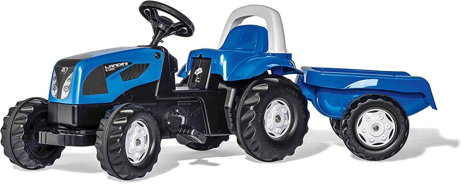 Blue Rolly Toys Landini Kid-X Tractor