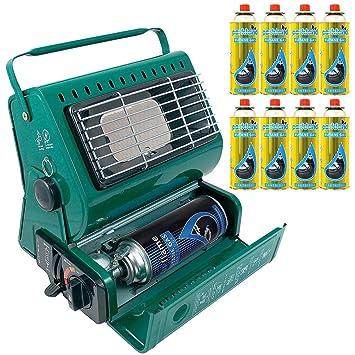 Calefactor de gas portátil para exterior, ideal para pesca y camping, 1