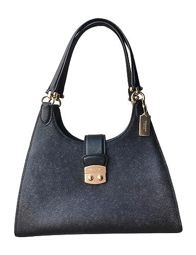 Amazon.com: Coach Leather Avary - Bolso bandolera, talla ...