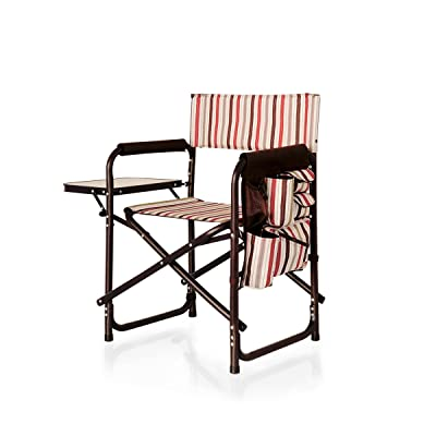 ONIVA - a Picnic Time brand Portable Folding Sports Chair, Moka : Folding Patio Chairs : Sports & Outdoors