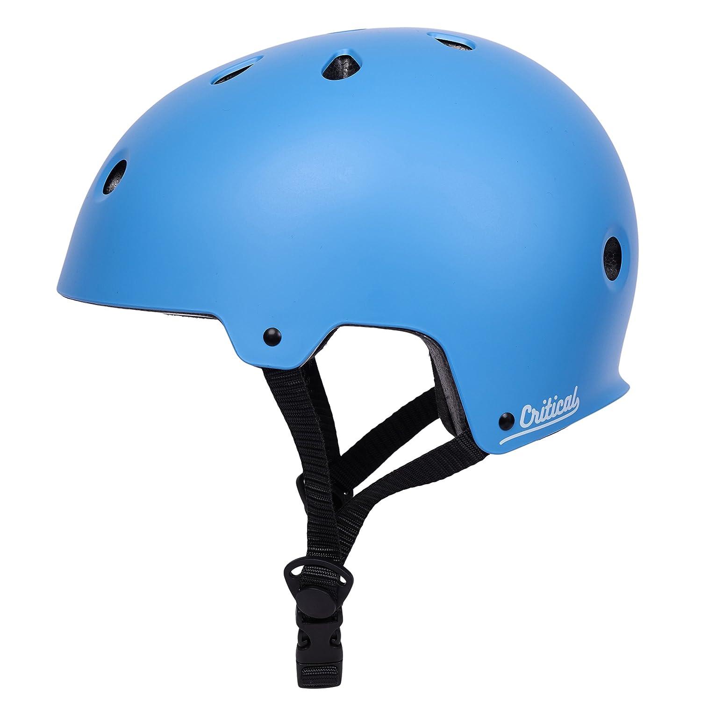 Critical Cycles Classic Commuter Bike Helmet Unisex Size Large Black