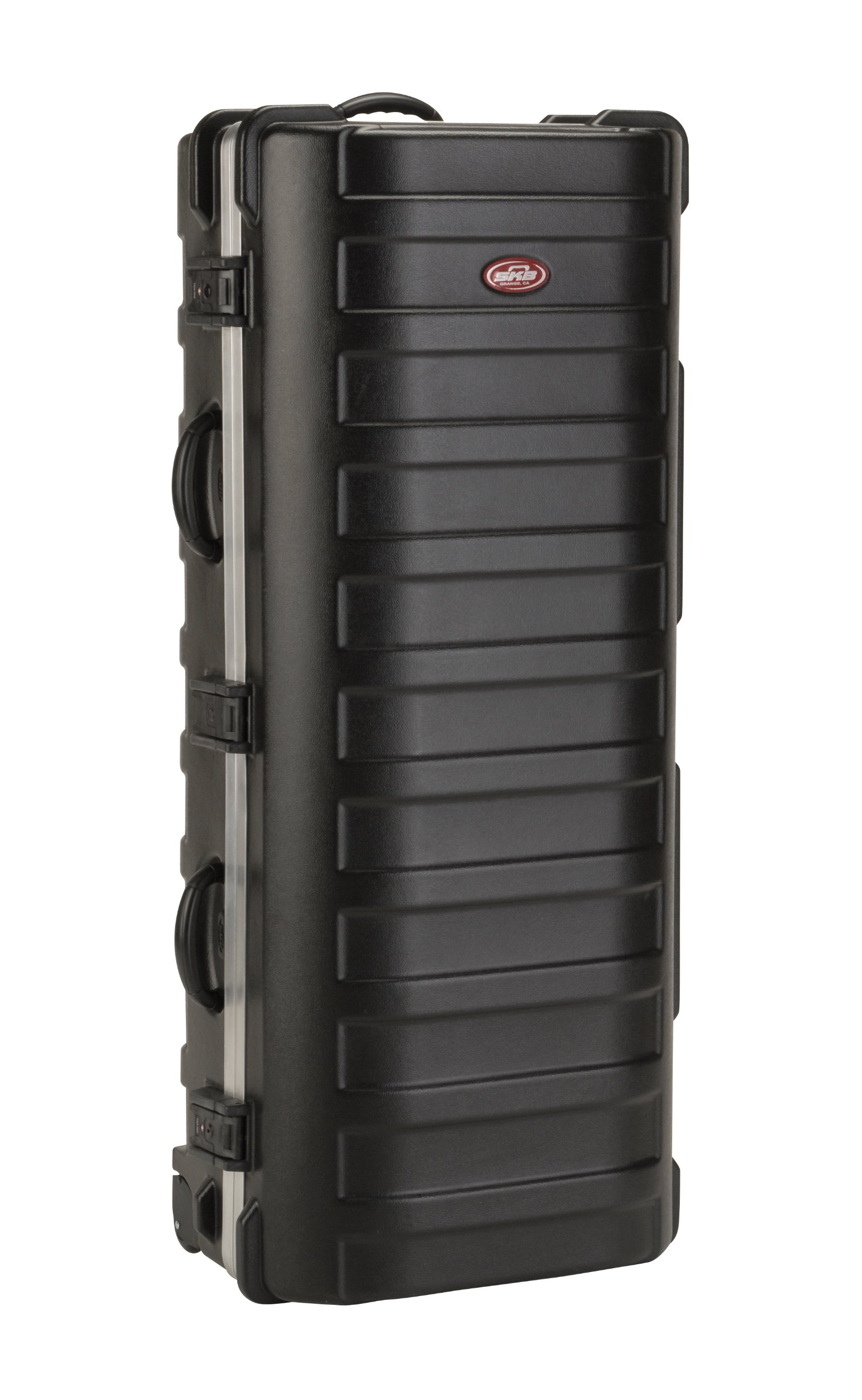 SKB ATA XL Stand Case (49-1/2 x 20-1/4 x 13-1/2) with Wheels and Straps, TSA Latches, Over-Molded Handle