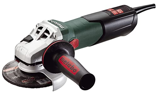 Metabo – 5 Variable Speed Angle Grinder – 2, 800-10, 500 Rpm – 9.5 Amp W Electronics, Lock-On 600388420 10-125 , Concrete Renovation Grinders Surface Prep Kits Cutting Finishing