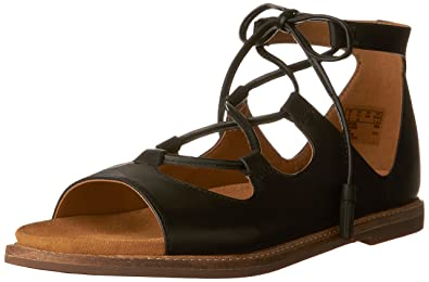 8b544a3b560 CLARKS Women s Corsio Dallas Black Leather Sandal