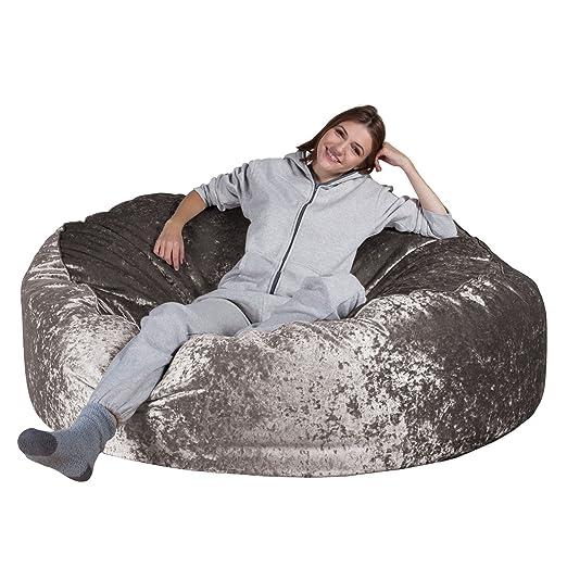 Lounge Pug®, Puff Gigante Mega-Mamut, Terciopelo Retro ...