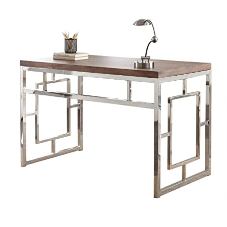 Steve Silver Company AZ250D Alize, Driftwood Desk, 47 W x 24 D x 30 H