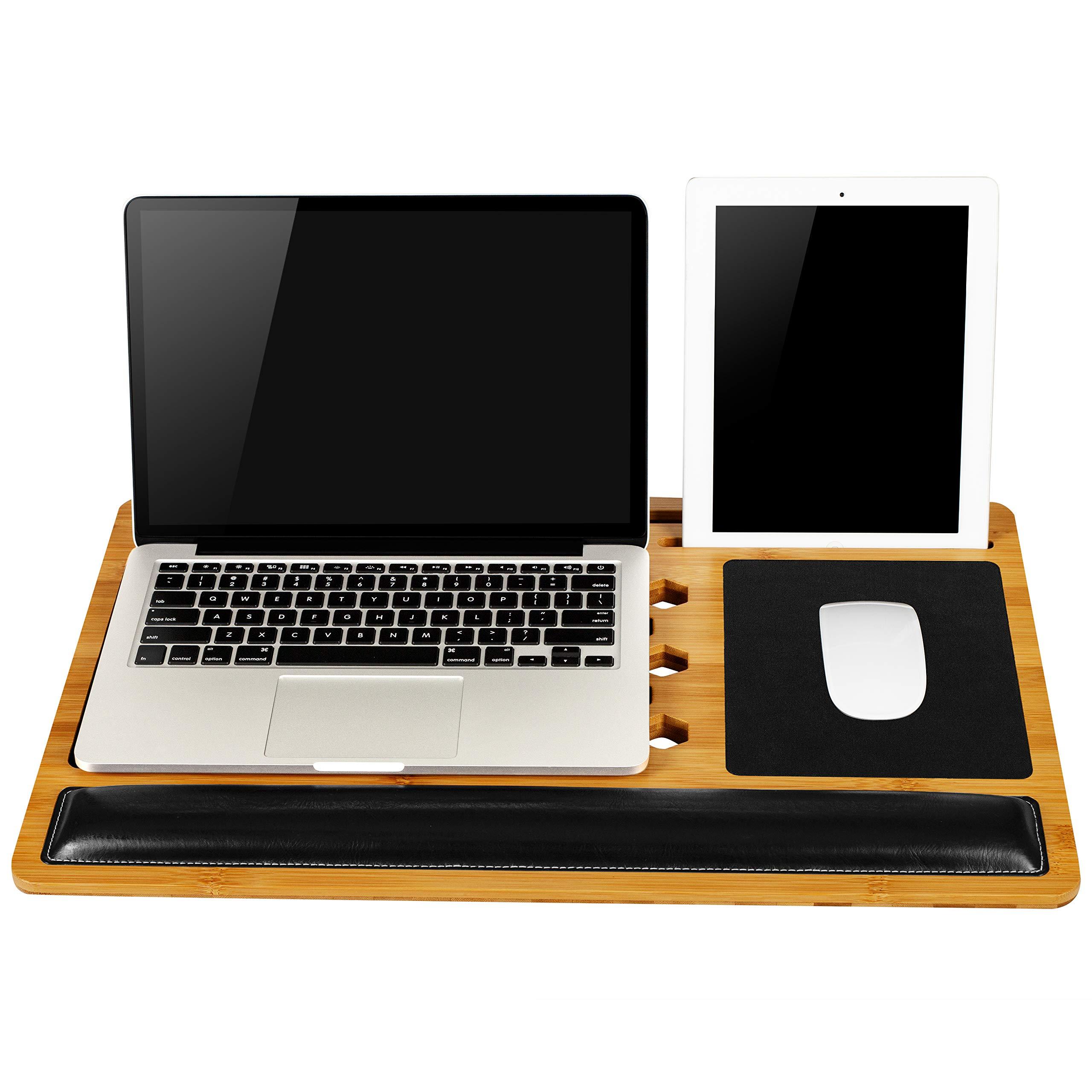 LapGear Bamboard Pro Lap Desk (Fits Most 17.3'' Laptops) - Style #77101