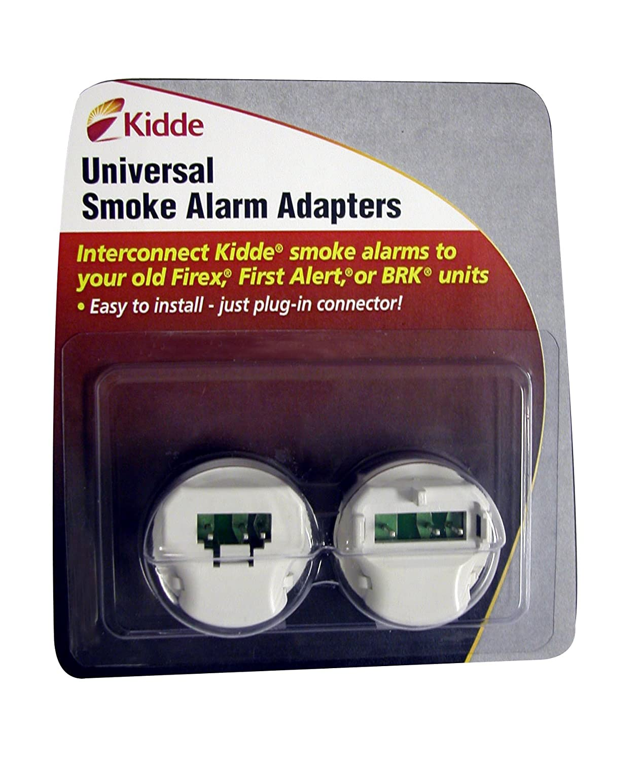 814Se4H5loL._SL1500_ kidde ka b, ka f universal smoke alarm adapters, 2 different units  at reclaimingppi.co
